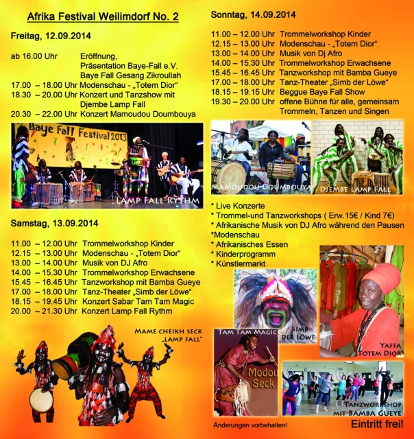 flyer afrika festival weilimdorf 2014 mitte web