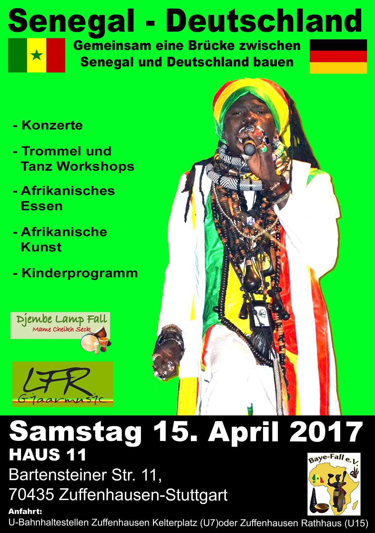 Flyer Senegal- Deutschland 2017